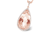 A242-76921: NECK 6.33 MORGANITE 6.63 TGW