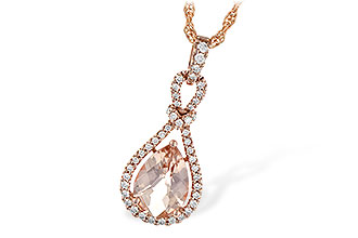 B244-55121: NECK 1.54 MORGANITE 1.75 TGW