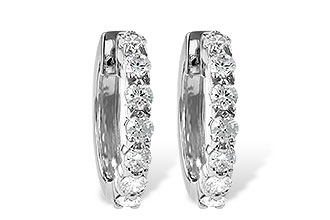 C055-48739: EARRINGS 1.00 CT TW