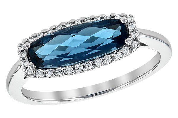 D244-59712: LDS RG 1.79 LONDON BLUE TOPAZ 1.90 TGW