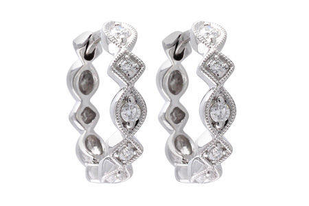 L055-46002: EARRINGS .22 TW