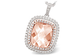 L242-76948: NECK 4.20 MORGANITE 4.66 TGW
