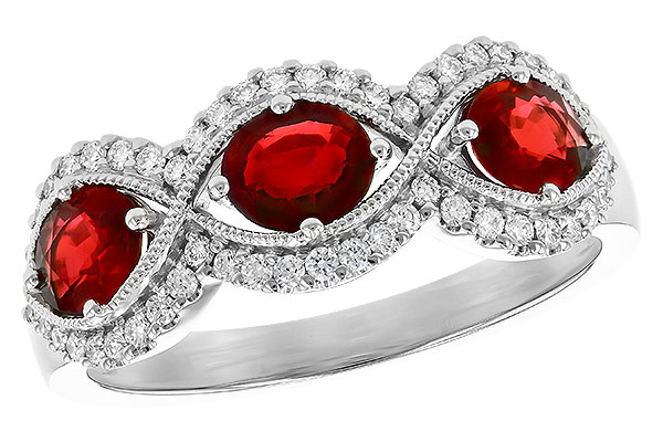 L327-31511: LDS WED RG 1.10 TW RUBY 1.35 TGW